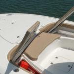 inside of a boat